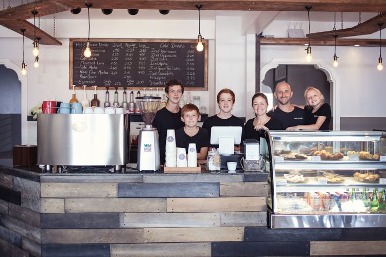 Coffee shop staff