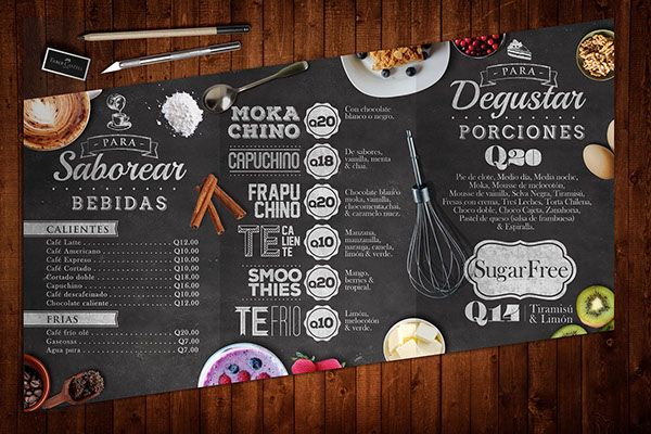 Fantastic Cafe Breakfast Menu